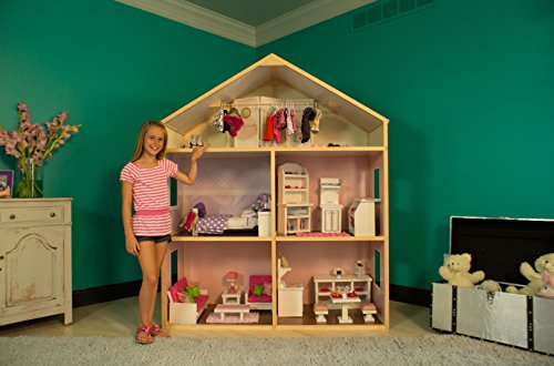 My Girl Country French Doll House For 18 Dolls