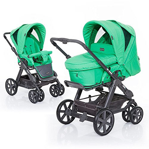 ABC Design Kombi-Kinderwagen Turbo 6 Fashion - Grass gruen