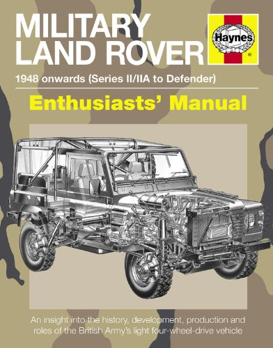 Military Land Rover: 1948 Onwards (Series II/Iia to Defender) (Enthusiasts' Manual)
