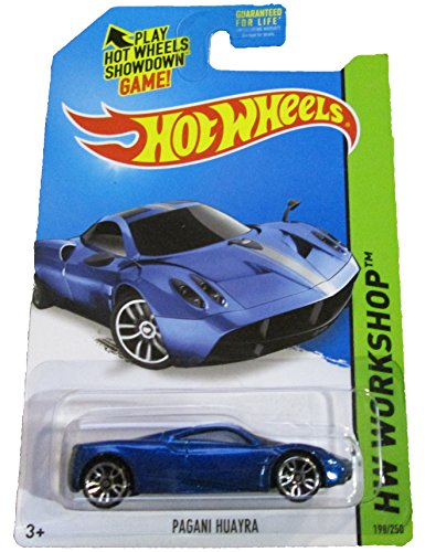 Hot Wheels - 2014 HW Workshop - HW All-Stars 198/250 - Pagani Huayra (blue) - 1