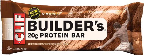 Clifbar Clifbar Builders Protein Bar - 12 Pack Smores, One Size Smores, One Size - Men'S