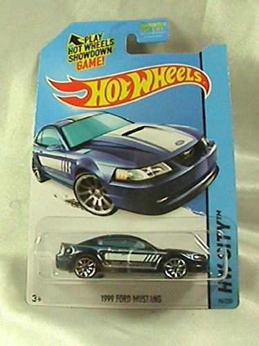 2014 Hot Wheels Hw City 96/250 - 1999 Ford Mustang