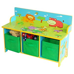 logitoys sx7046 jouet premier age coffre rangement jungle jeux et jouets. Black Bedroom Furniture Sets. Home Design Ideas
