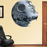 Death Star - Star Wars Movie Repositional Fathead Wall Decal