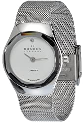 Skagen Women's 432SSSS Quartz Stainless Steel Silver Dial Watch