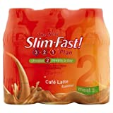 Slim fast Café Latte Shake 325ml Case of 6