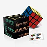 Rubik's Cube by Just-f-Care, Top Quality, Professional Speed Edition, Easy Turn Construction, Traditional Size & Design, Best Puzzle Game for Beginners and Adults, Kids, Boys, Girls, Mom & Dad, Inspiring 6 New Challenges, Original & Attractive Packaging, Perfect Gift