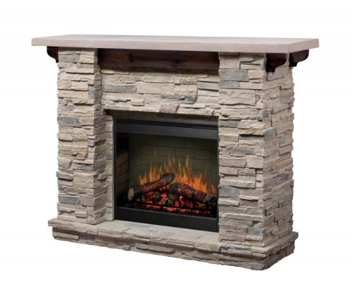 Dimplex GDS26-1152LR Featherston Stone Electric Fireplace Package photo B005P0PDGG.jpg