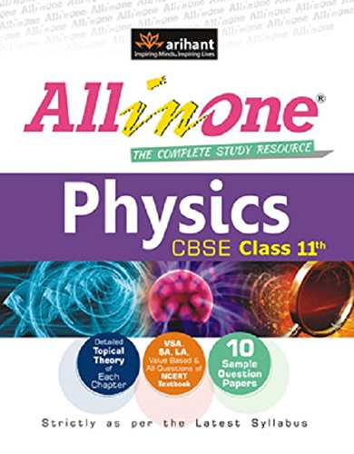 CBSE All in One Physics Class 11