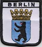 Berlin Germany Flag Embroidered Patch Badge