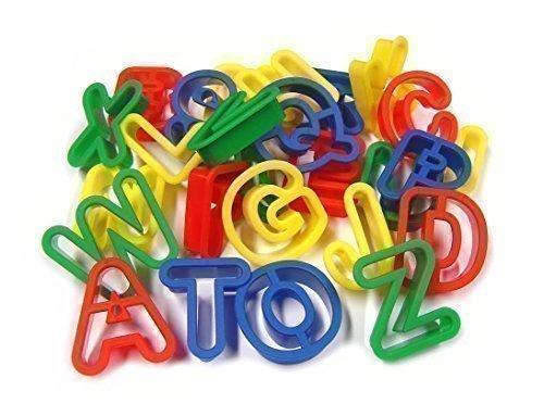26 lettres majuscules en Alphabet A-Z Playdough Emporte-Pièces Lettres