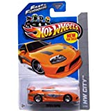 Toyota Supra '13 Hot Wheels 5/250 (Orange) Vehicle