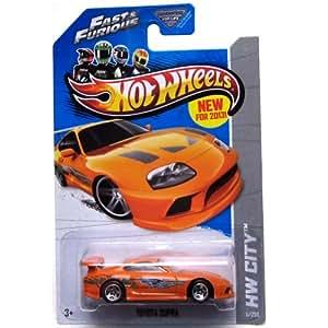Amazon.com: 2013 Hot Wheels Hw City - Toyota Supra - Fast