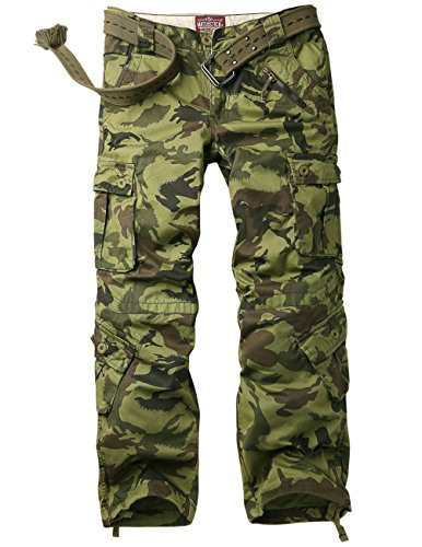 Match Men's Woodland Military Cargo Pants(W36