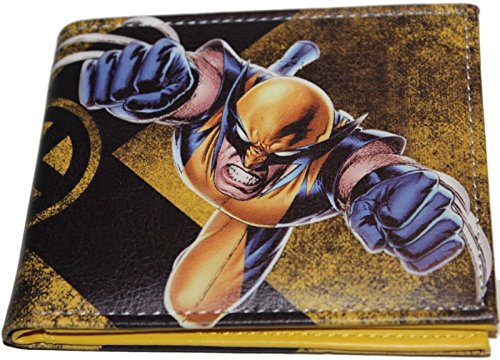 Marvel Wolverine Claws Out Leather Bi-Fold Wallet
