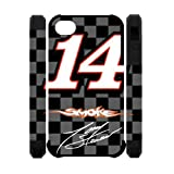 Tony_stewart Custom Dual-Protective Polymer Case Cover for IPhone 4,4S Back Case