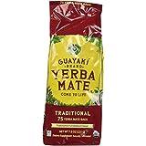 Guayaki Traditional Yerba Mate, 75 Tea Bags  7.8oz (Pack of 2)