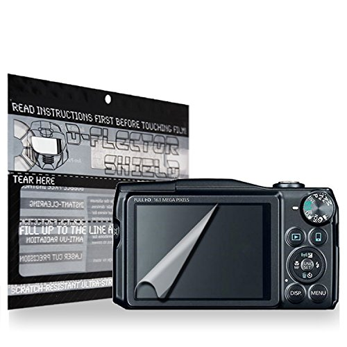 D-Flectorshield Anti-Shock Scratch Resistant Canon Powershot Sx700 Camera Premium Screen Protector/Anti-Scratch/Scratch Resistant/Self-Healing Technology/Oleophobic Material/High Definition/Bubble Free Install/Precise And Accurate Fitment With Lifetime Fr front-449729