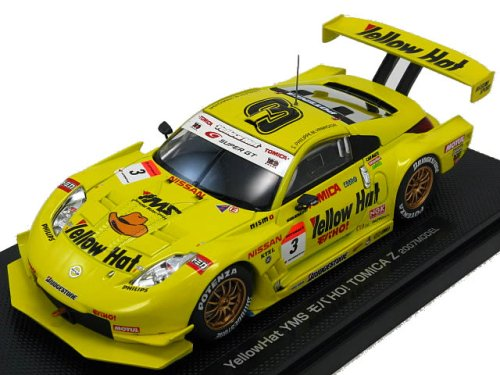 Fairlady Z Yellow Hat YMS Moba! Tomica Z 07Model No.3 Tomica from Japan
