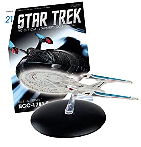 Star Trek Starships Figurine Collection Magazine #21 U.s.s Enterprise-e