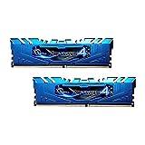 G.SKILL 8GB (2 x 4GB) Ripjaws 4 Series DDR4 PC4-24000 3000MHz for Intel X99 Platform Extreme Performance Memory Model F4-3000C15D-8GRBB (Tamaño: 8 Gb)