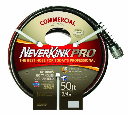 Neverkink 9844-50 Series 4000 Commercial Duty Pro Garden Hose, 3/4-Inch by 50-Feet (Garden Hose 3 4 Inch compare prices)