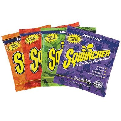 Sqwincher 016400-Mb 47.66 Oz Powder Concentrate Electrolyte Replacement Beverage Mix, 5 Gallon Yield, Mixed Berry Flavor (Case Of 16)