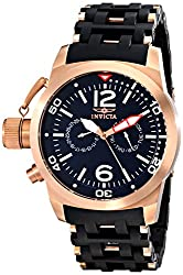 Invicta Analog Black Dial Mens Watch - 80048