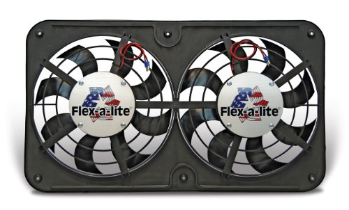 Flex-a-lite 675 95-01 Toyota Tacoma Dual Electric Fan