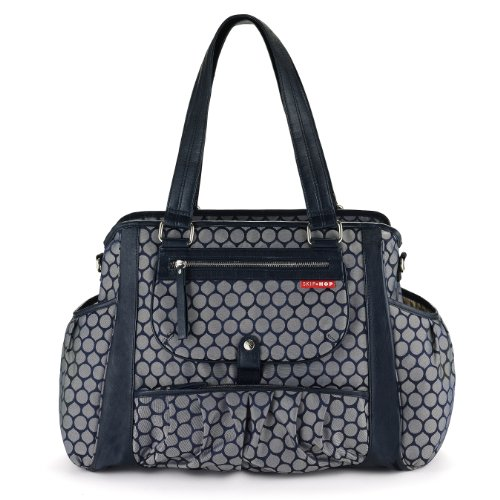 skip hop studio diaper bag indigo dot diaper bags babies. Black Bedroom Furniture Sets. Home Design Ideas