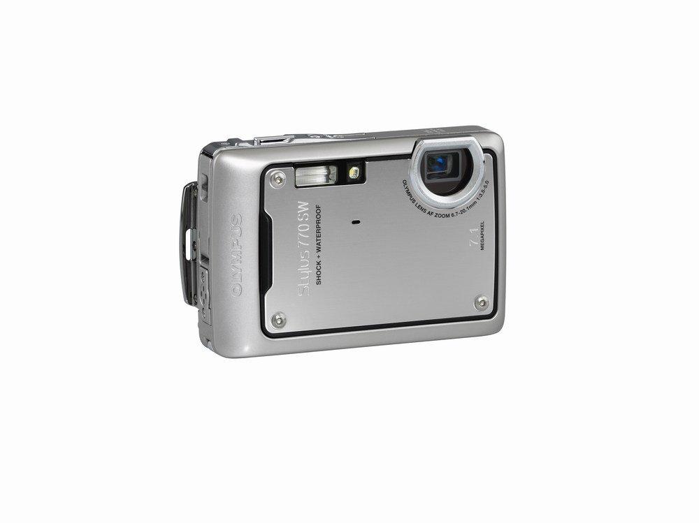 Amazon.com : Olympus Stylus 770SW 7.1MP Digital Camera with 3x ...
