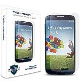 Galaxy S4 Glass Screen Protector, Tech Armor Premium Ballistic Glass Samsung Galaxy S4 Screen Protectors [1]