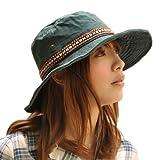 Nakota (ナコタ) 2WAY アクティビティ ハット  カジュアルハット サファリハット ツバ広デザイン 帽子 アウトドア 大きい