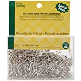 Dritz Quilting Curved Basting Pins Bonus Pack, Size 1, 300 Count