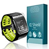 IQShield® Matte - Nike+ Sportwatch GPS Anti-Glare Screen Protector and Full Body Skin with Lifetime Warranty Replacements - Premium Bubble-Free HD Film with Anti-Fingerprint Coating