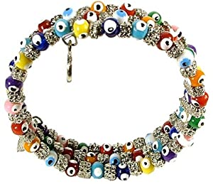 Multicolor Evil Eye Bracelet