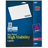Avery High-visibility Laser Printable Labels (AVE5980)