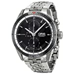 Oris Artix GT Chronograph Black Dial Stainless Steel Mens Watch 674-7661-4154MB from Oris