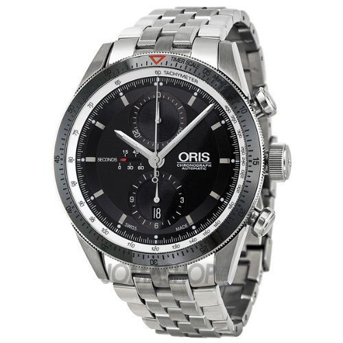 Oris Artix GT Chronograph Black Dial Stainless Steel Mens Watch 674-7661-4154MB