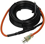 M-D Building Products 64444 30-Foot Pipe Heating Cable with Thermostat