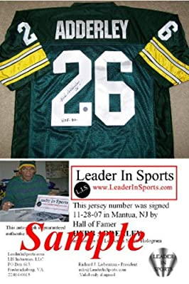 Herb Adderley Signed Jersey - Green Bay Packers