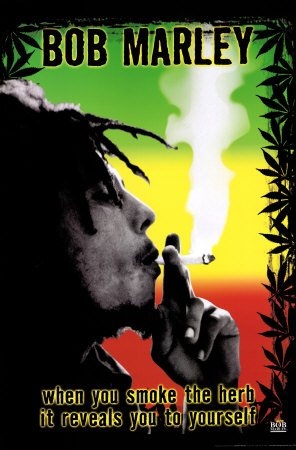 Bob Marley - Smoke the Herb Man! Best Seller Poster Print, 22x34