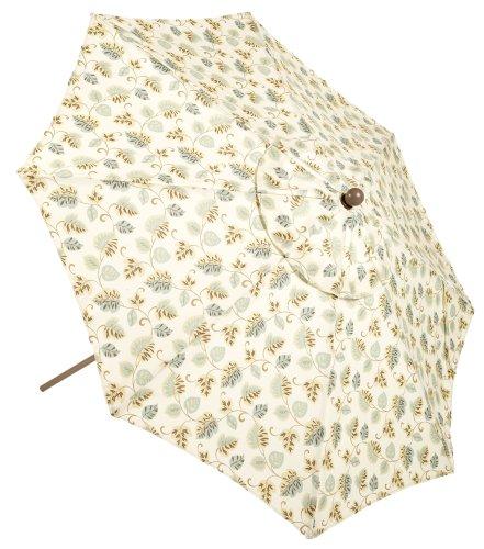 Auto Tilt 9 Foot Market Umbrella, Toast Floral - Buy Auto Tilt 9 Foot Market Umbrella, Toast Floral - Purchase Auto Tilt 9 Foot Market Umbrella, Toast Floral (Lifestyle products, Home & Garden,Categories,Patio Lawn & Garden,Patio Furniture,Umbrellas & Accessories,Umbrellas)