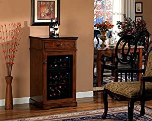 Madison Wine Cabinet in Rose Cherry DC997C240-2424