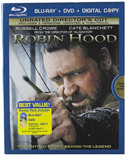 Robin Hood (Three-Disc Unrated Director's Cut Blu-ray/DVD Combo)