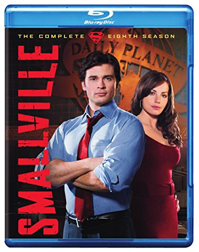 Blu-ray : Smallville: The Complete Eighth Season (Widescreen, AC-3, Dolby, 6 Disc)