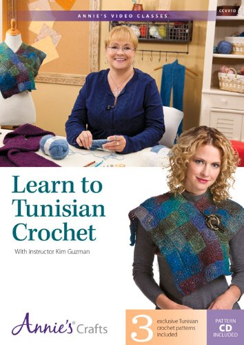Learn to Tunisian Crochet: With Instructor Kim Guzman