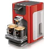 Philips HD7864/81 Cafetière SENSEO® Quadrante avec Sélecteur d'Intensité Rouge Carmin