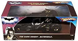 Hot Wheels The Dark Knight Batmobile Tumbler 1:18 Scale Collectible Die Cast Car