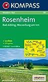 Rosenheim, Bad Aibling, Wasserburg am Inn: Wander- und Bikekarte. GPS-genau. 1:50.000 Picture
